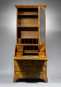 William and Mary Marquetry Bureau, writing desk