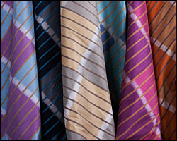 Aura collection of silks from Jim Thomson