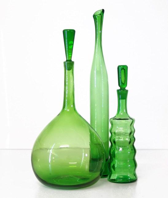 Bottles from