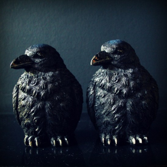 Ravens Bookends from Abigail Ahern's Shop