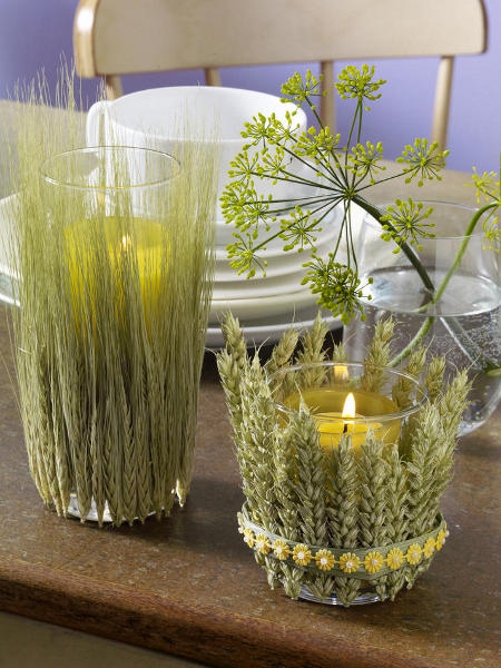 wheat candles
