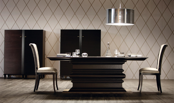 10 dining tables from top luxury furniture brands for Designer furniture brands