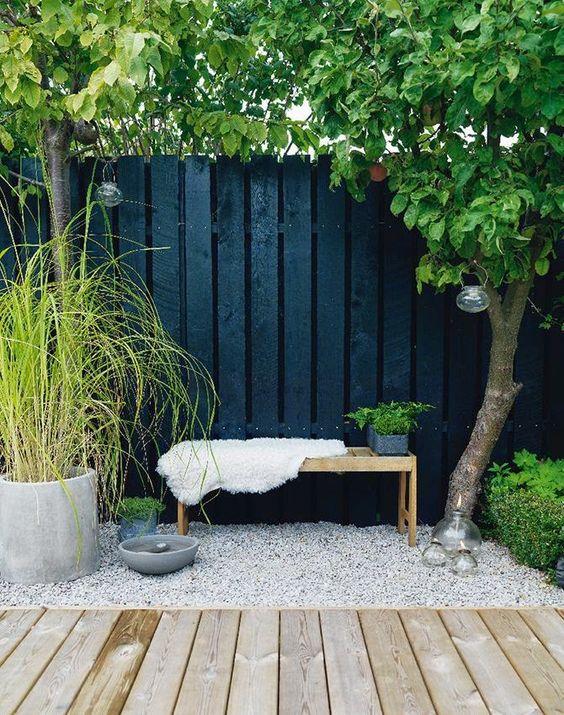 wood in your garden