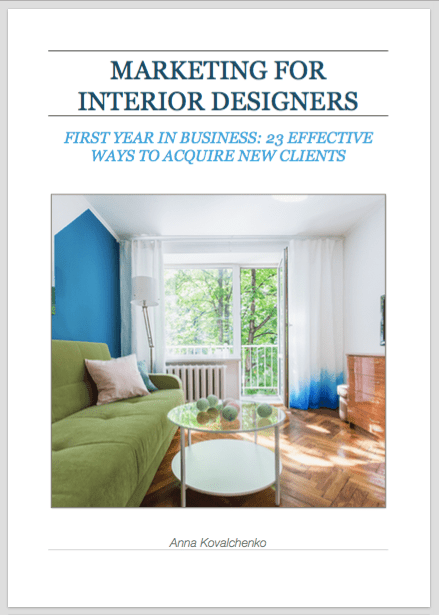 marketing for interior designers