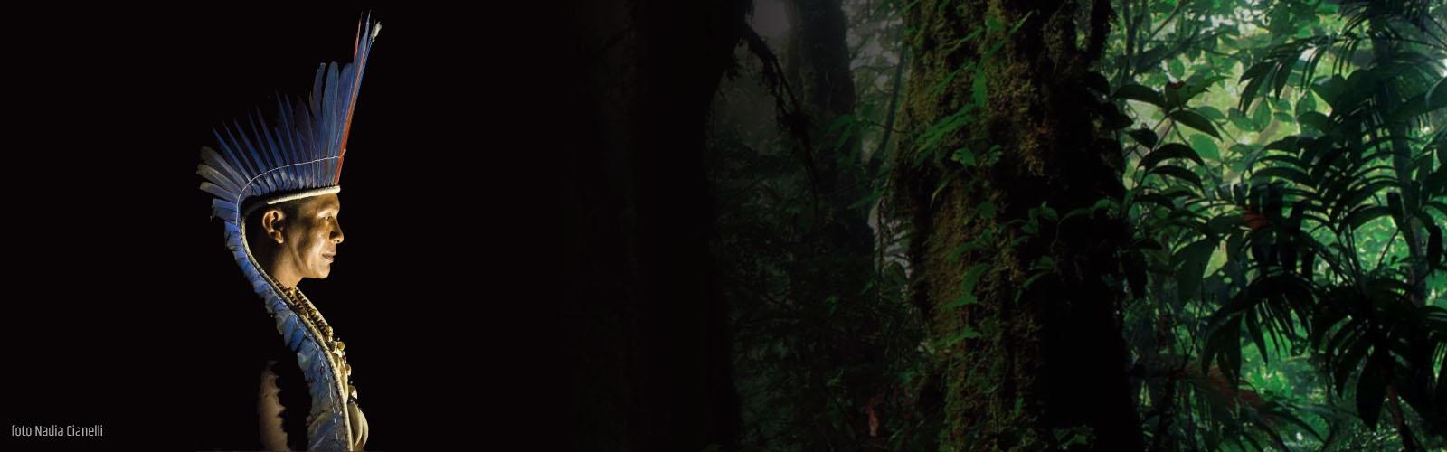 Regis Myrupu sciamano Dessana (Amazzonia)
