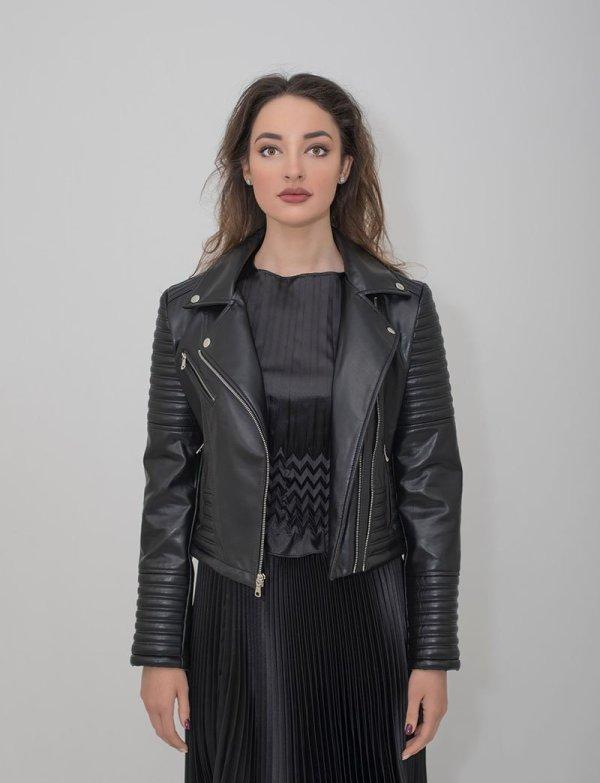 Jess Biker Jacket - Essere Vegano Vegan Clothing