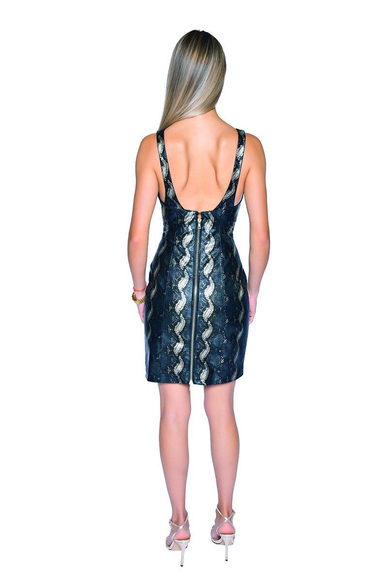 Cindy Fitted Mini Dress - Essere Vegano Vegan Clothing