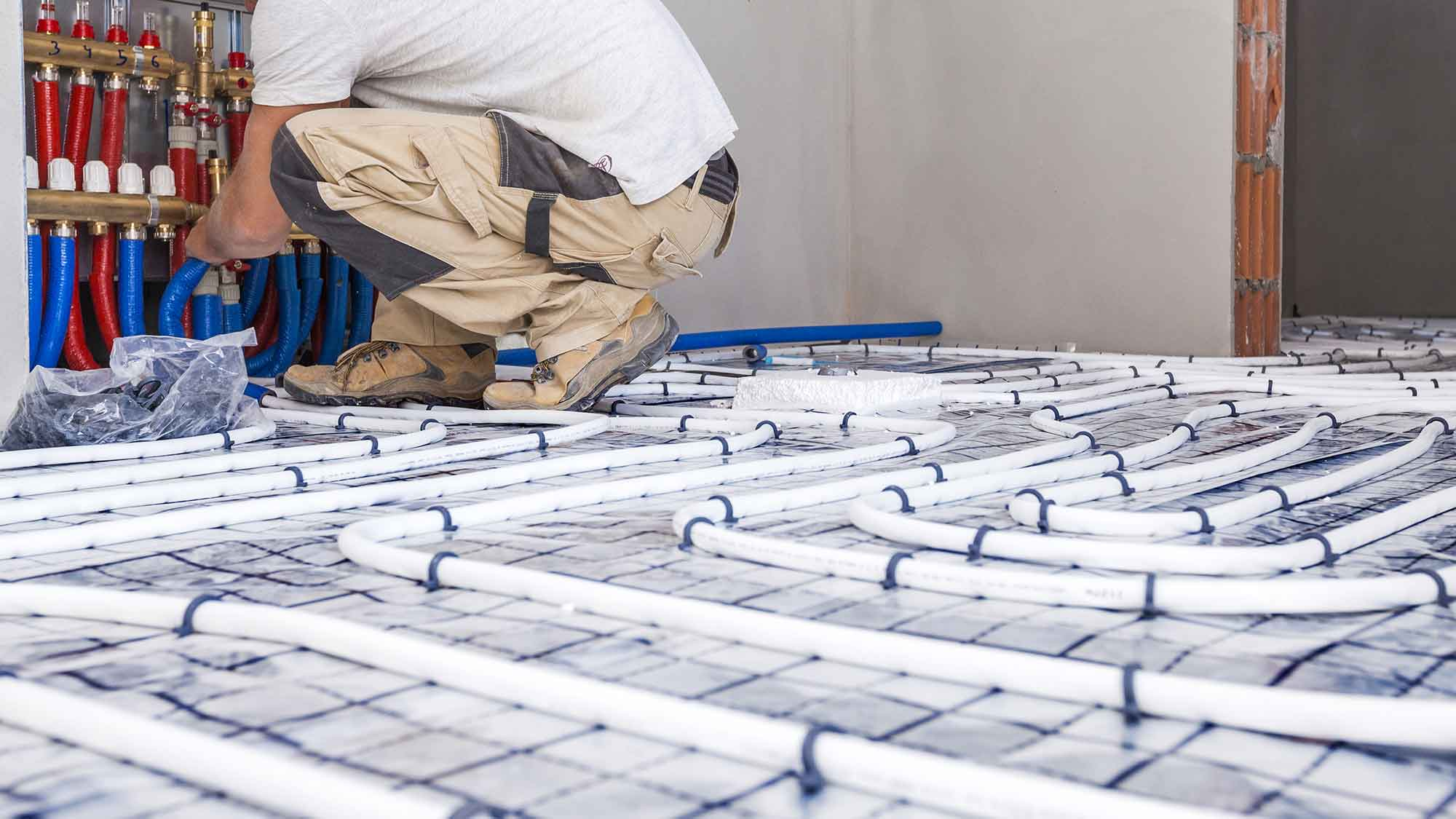 underfloor heating installation essex maintenance leigh on sea laying