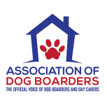A member of the Association of Dog Boarders