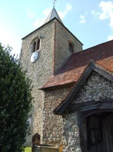 great wakering, st nicholas, essex, church
