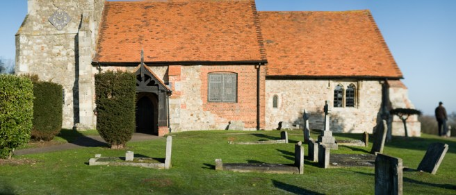 st andrew's minster, st andrew, ashingdon, essex, church
