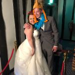 Happy Couple use Magic Mirror from Essex Event