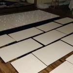 Starlight Floor being laid