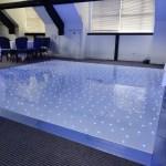 Light Blue LED Dance Floor