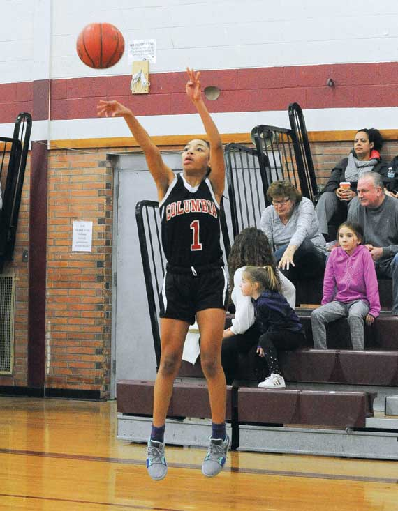 Maia Little, Gia Gillens key Columbia HS girls basketball team's victory over West Essex