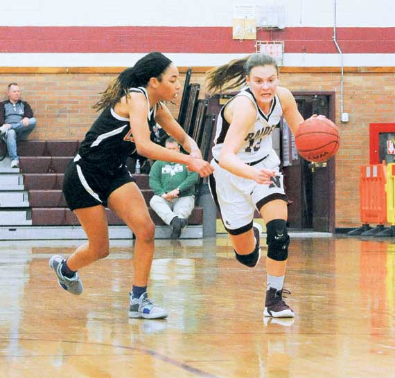 UPDATE: Nutley HS girls' basketball team clicking; Courtney Wilde scores 1,000th career point