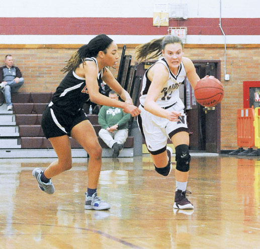 Nutley HS girls basketball team battles hard this season