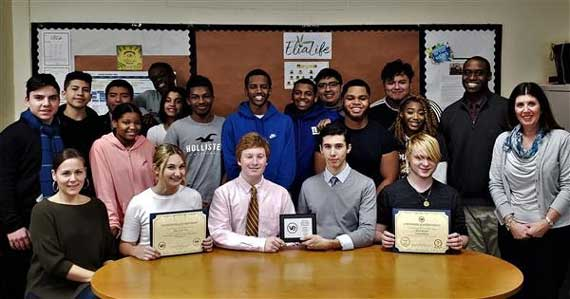 WOHS virtual enterprise class wins third place in state competition