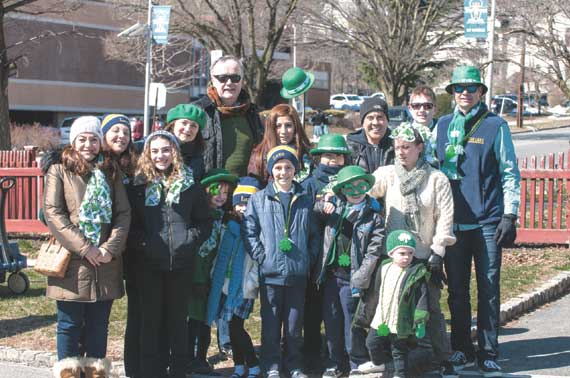 Investiture ceremony for 2019 WO St. Patrick's Day Parade