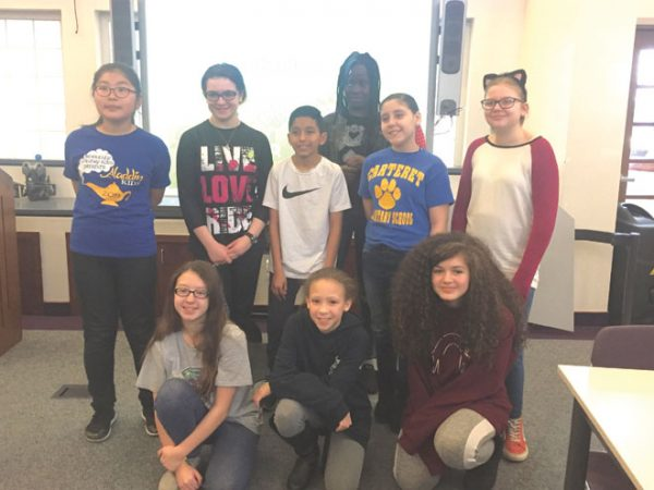 Students prepare for fifth- and sixth-grade Challenge 24 competition