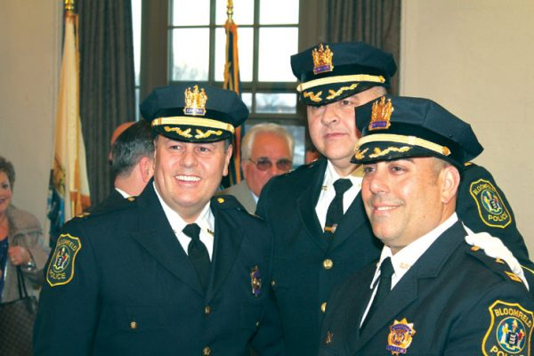 Lieutenants promoted to captains in Town Hall ceremony