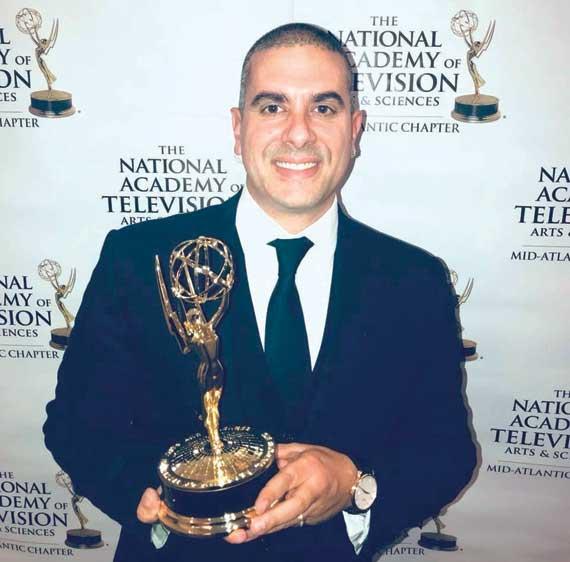 SOMS biology teacher opens studio following Emmy win