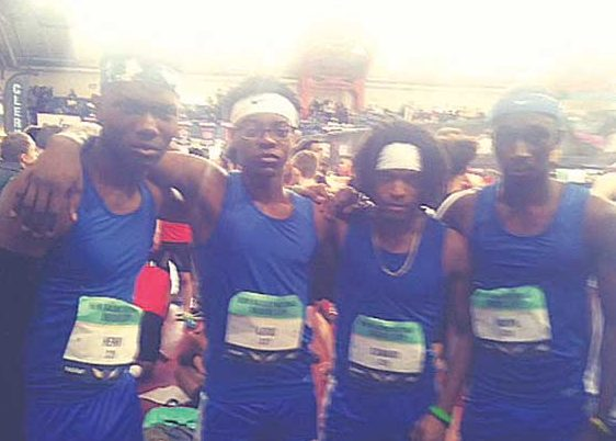 IHS boys sprint medley team places at New Balance Nationals