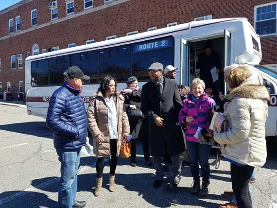 Open Space Commission organizes townwide tour