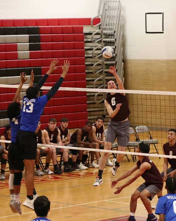 PHOTOS: Bloomfield HS boys volleyball team tops Montclair, moves to 5-0