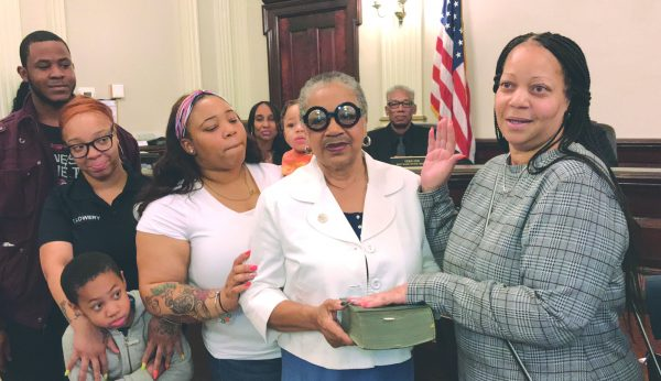 Former BOE member sworn in as new South Ward councilwoman