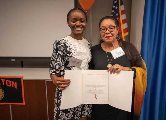 Three Kent Place students win Princeton Prize in Race Relations