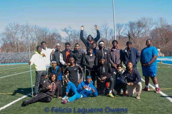 Irvington HS boys track and field team clinches SEC-Liberty Division title with 9-0 record