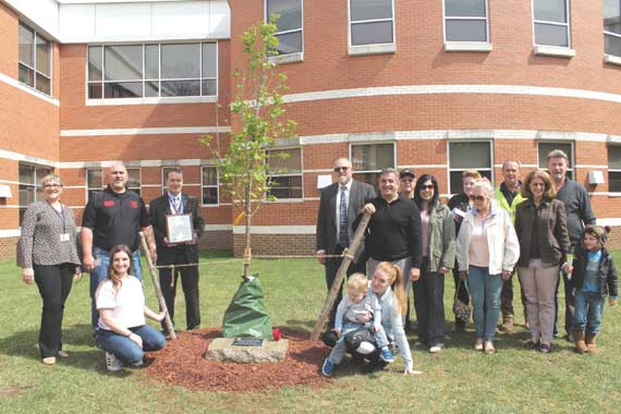 LMS remembers Zaccaro for Arbor Day