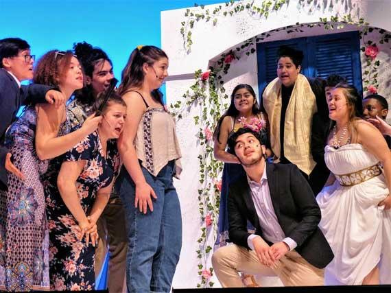 'Mamma Mia!' opens at West Orange High School