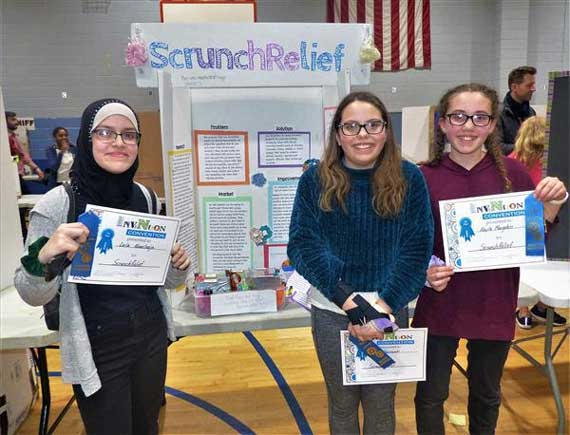 Roosevelt Middle School holds Invention Convention
