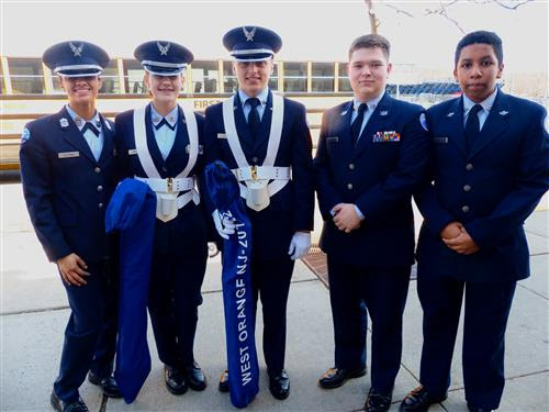 West Orange High School AFJROTC hosts first-ever drill competition