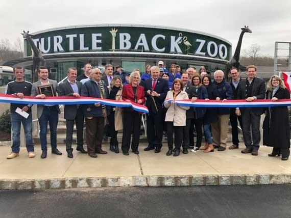 Zoo's new entrance, train maintenance building complete