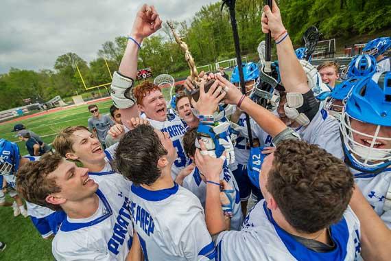 Seton Hall Prep lacrosse team captures seventh straight ECT title