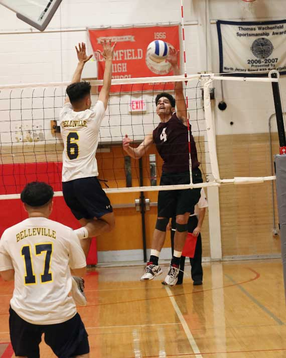 Bloomfield HS boys volleyball team advances to North 1 state semifinals
