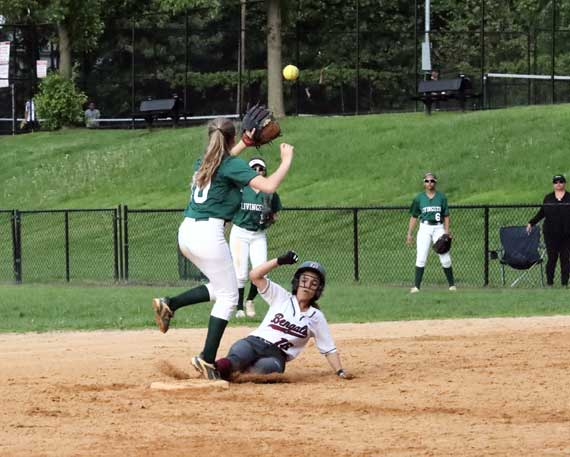 Bloomfield HS softball team routs Newark Academy