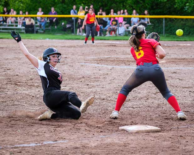 Columbia HS softball team rallies past Edison in state tournament