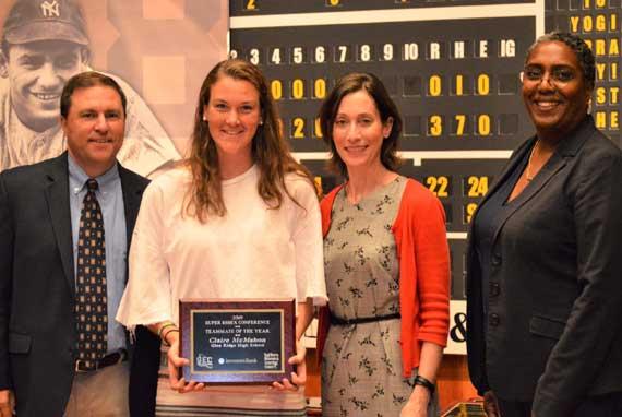 Glen Ridge HS' Claire McMahon receives Best Teammate Award