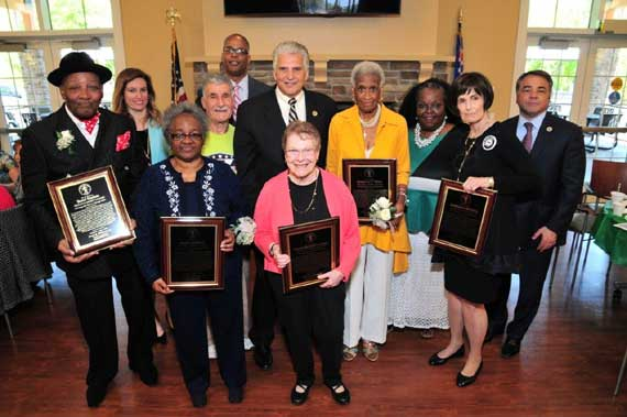County honors five area senior citizens with Legends Awards