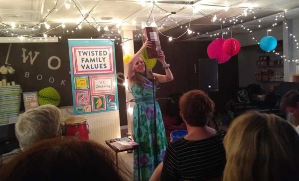 Chickering unveils 'Twisted Family Values' at Words