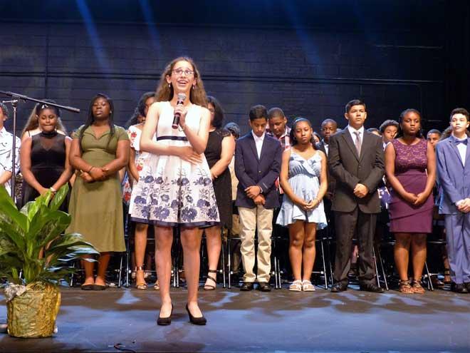 Roosevelt Middle School graduates 244 students