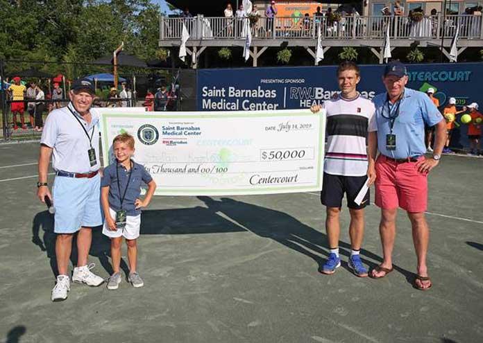 Kozlov wins Saint Barnabas Medical Center tennis tournament