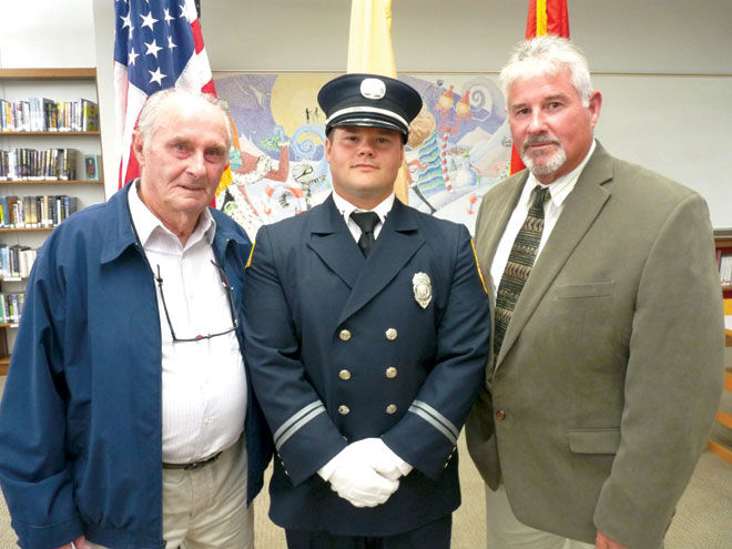 Third generation firefighter named captain