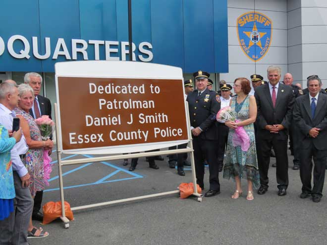 County dedicates section of highway to honor slain patrolman