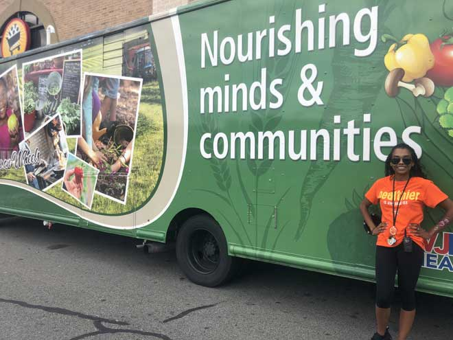 'Wellness on Wheels' van visits ShopRite of Newark