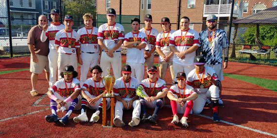 New York Vipers capture 5th Annual Monte Irvin Giants Wood Bat Classic baseball tournament championship in Orange